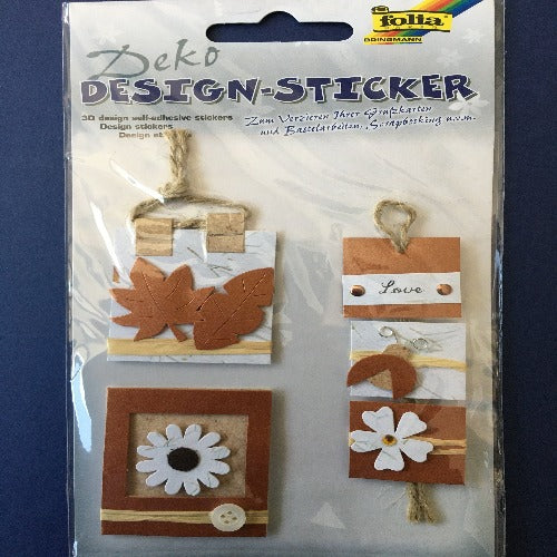 3D Stickers Set (Autumn and Rustic)