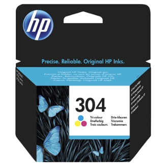 HP 304 Colour - Ink Cartridge