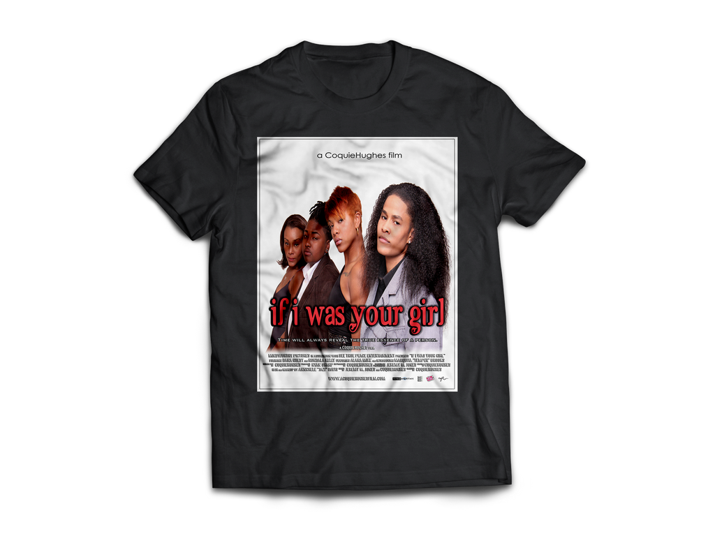 If I Was Your Girl – 2012 Movie - CoquieHughes Movie Poster Tee - Short-Sleeve Black Unisex T-Shirt