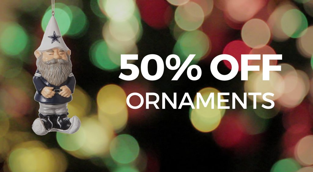 50% OFF All Ornaments