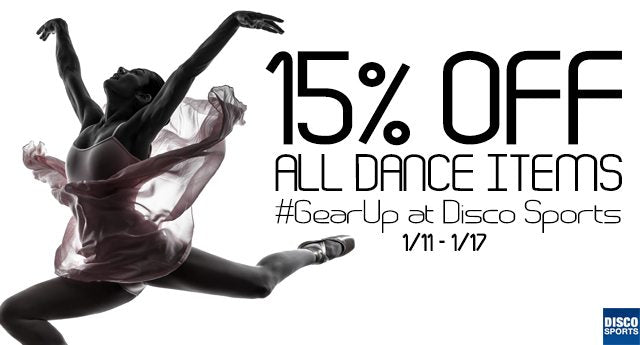 15% OFF Everything Dance!