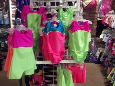 New Gymnastics Leotards - Extra bright, hold the sparkly