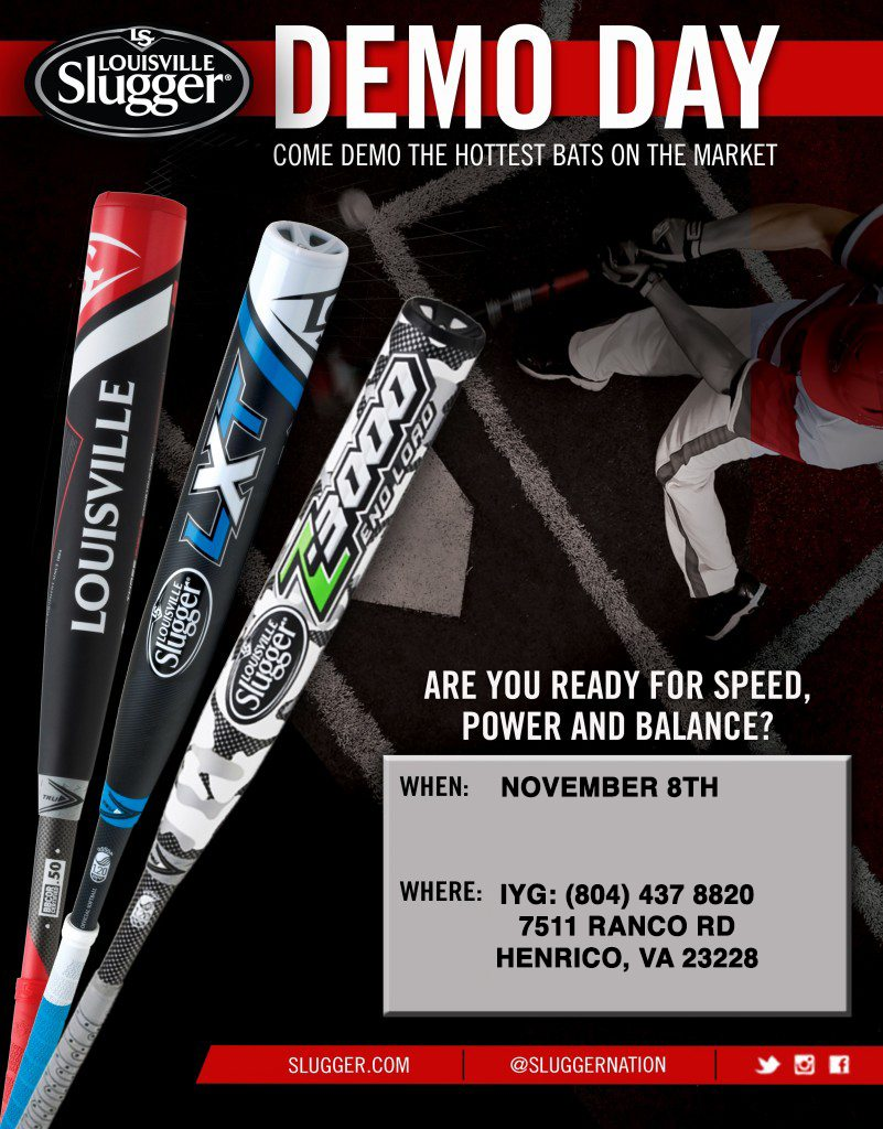 Come Demo the Hottest Bats on the Market