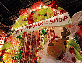 Experience the Joy of Giving with our Little Reindeer Shop!