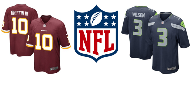 NFL Jerseys for All 32 Teams