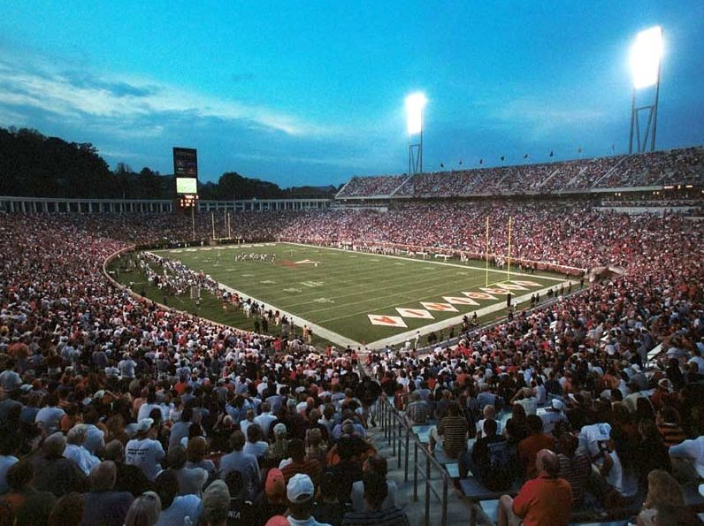 Scott Stadium at UVA