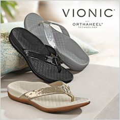 New Vionic Sandals your feet will love!
