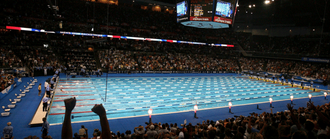 Richmond Swimmers at the Olympic Trials