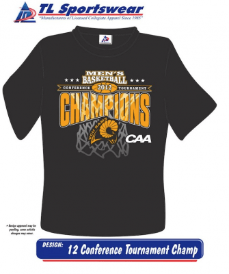 CAA Champ shirt