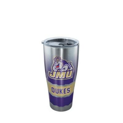 James Madison University Tervis stainless steel 30oz. w/lid