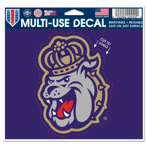 James Madison Dukes Cut to Logo Multi-Use Decal - DiscoSports