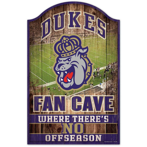James Madison University Wood Sign - DiscoSports
