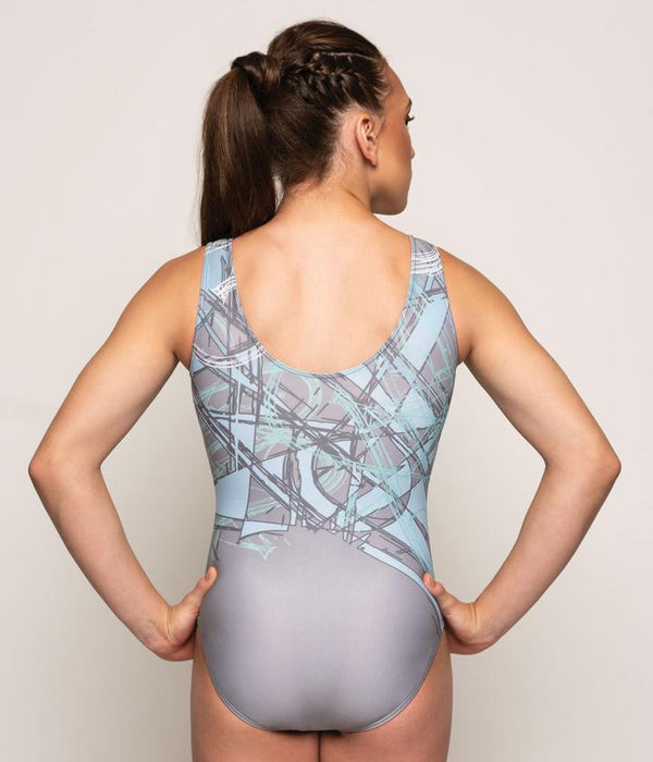 Motionwear Mint Print Leotard