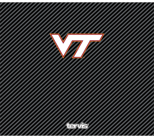Virginia Tech Hokies Carbon Fiber 24 oz Tervis - DiscoSports