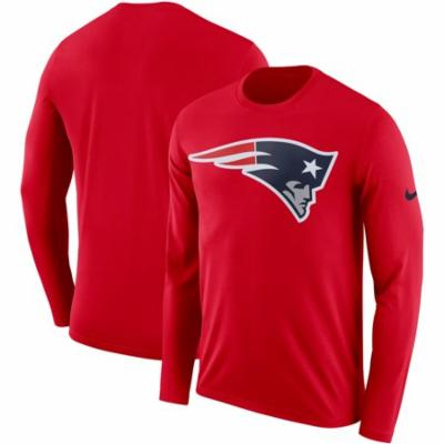 New England Patriots Adult  Long Sleeve Shirt