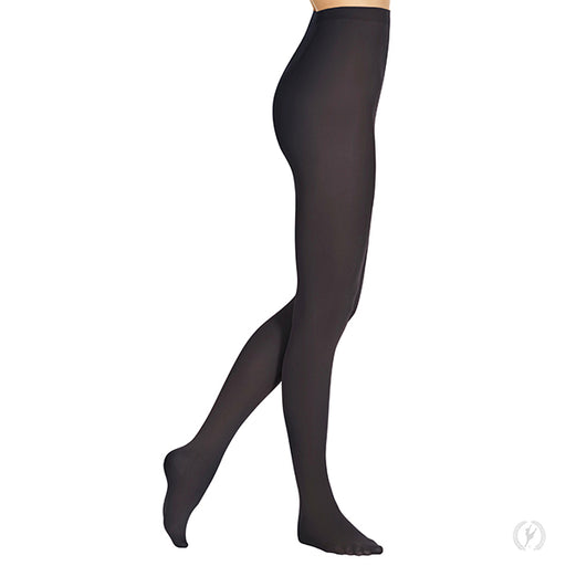 Euroskins Adult Black Footed Tights