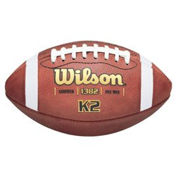 Wilson K2 Traditional PeeWee Game Football F1382 ( - DiscoSports