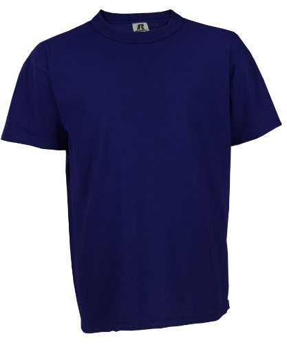 Russell Athletic Youth NuBlend Tee, Navy - SM - 7/8