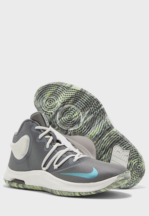 Nike Air Versatile IV Basketball Shoes in Cool Grey - DiscoSports