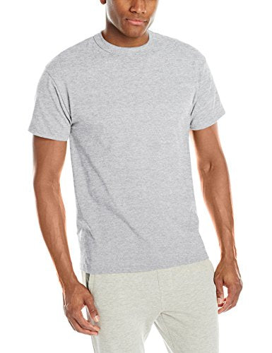 Russell Athletic Men's Short Sleeve Cotton T-Shirt, Ash, XX-Large