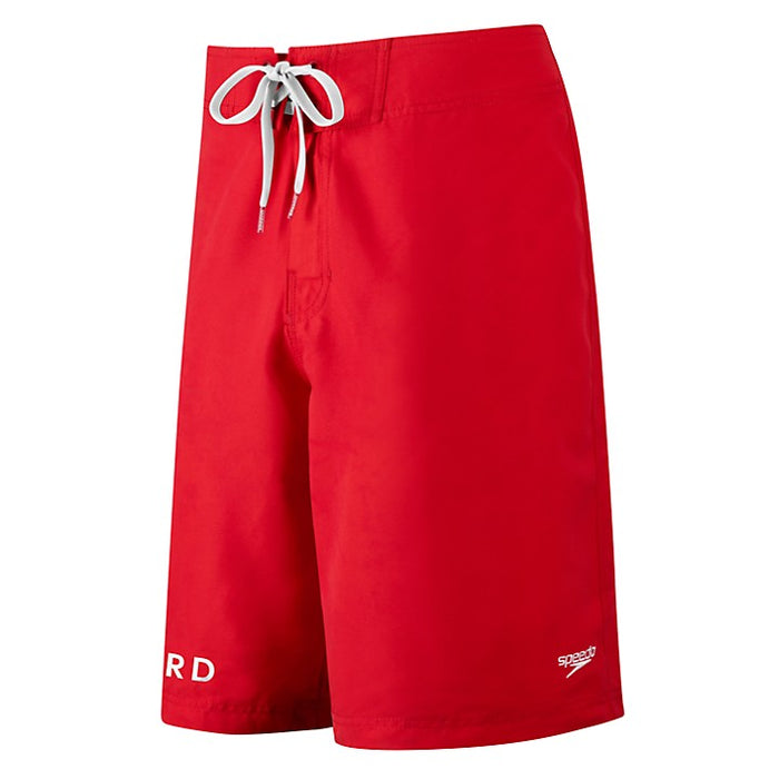 "Speedo Trunk Guard 21"" Board Short in Red"
