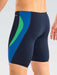 Dolfin Reliance Color Block Jammer in Navy/Blue/Green - DiscoSports