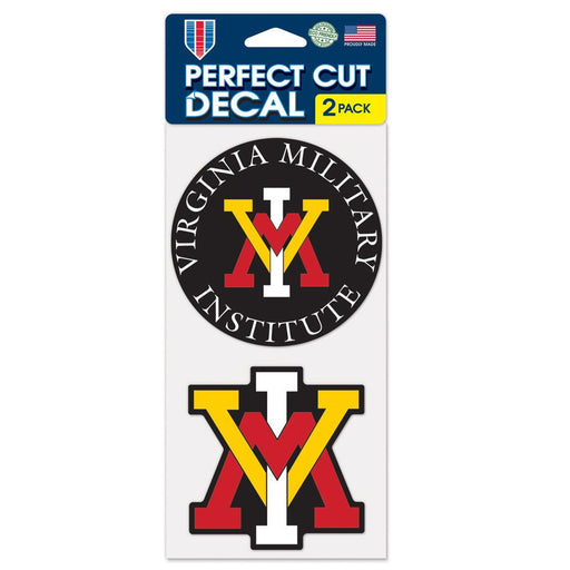 Virginia Military Institute Keydets Perfect Cut Decal - DiscoSports