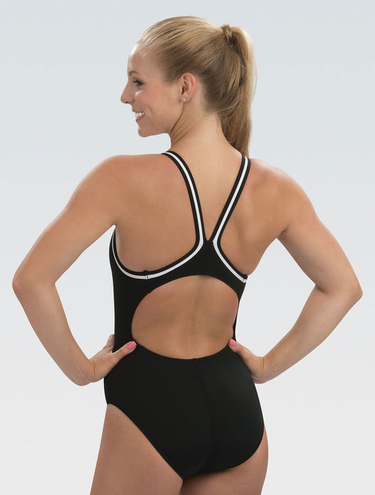 Dolfin Reliance Black DBX Back One Piece in Black