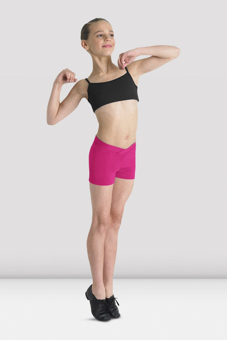 Bloch Girls Matea V Front Shorts