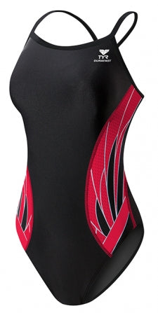TYR Phoenix Splice Diamond Fit in Black/Red