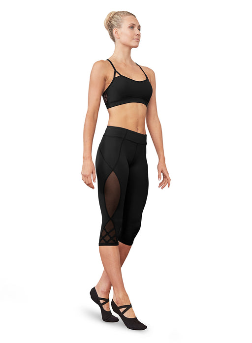 Bloch Strappy Mesh Back Crop Top