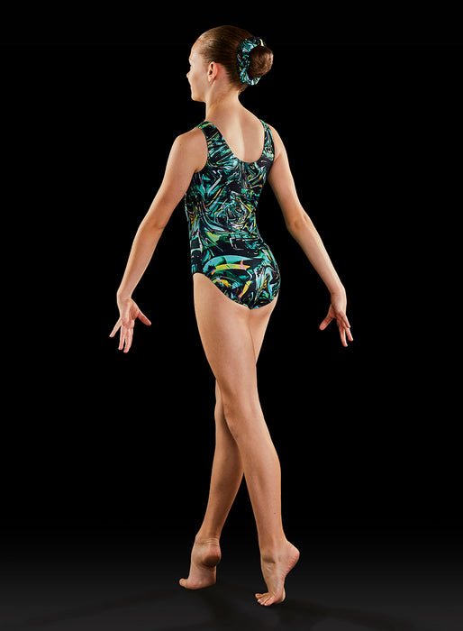 Bloch Ladies Gymnastics Dynami Leotard (Techno)