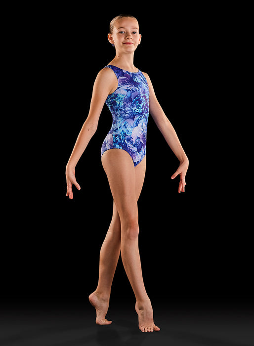 Bloch Ladies Gymnastics Dynami Leotard (Dreamy Blooms)