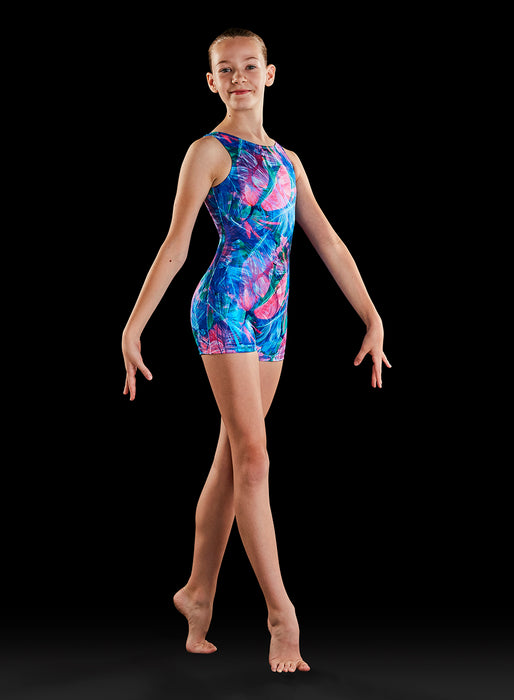 Bloch Child Gymnastics Dynami Biketard (Wild One)