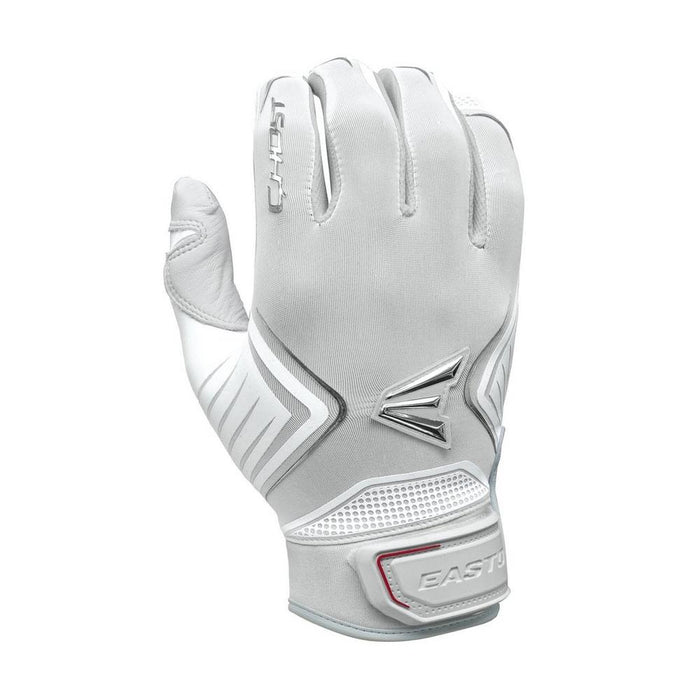 Easton Ghost Women's Fastpitch Batting Gloves in White