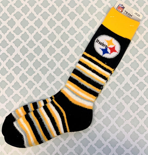 Pittsburgh Steelers Striped Socks