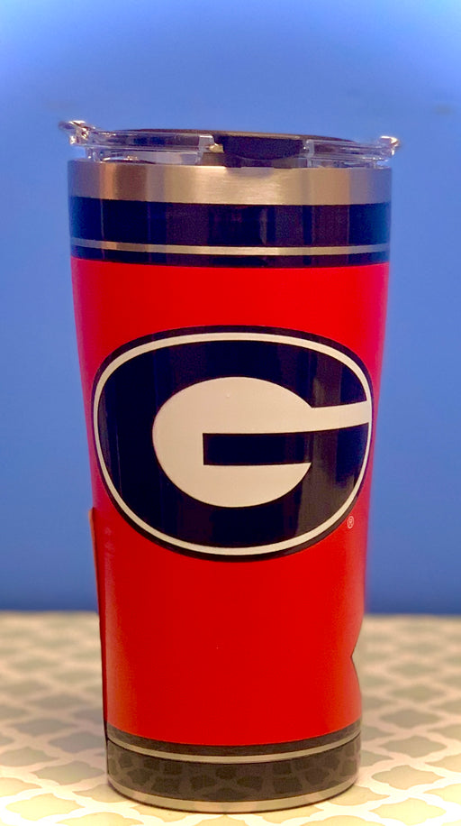University of Georgia Stainless Steel -Solid Red