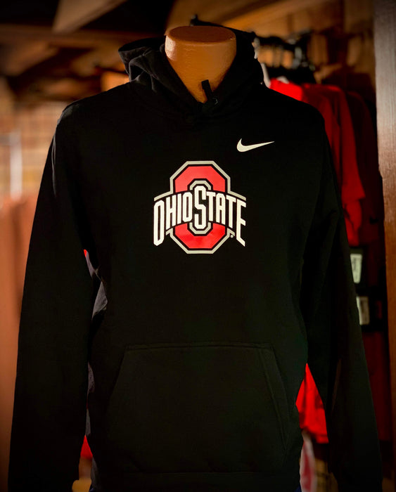 Ohio State University Logo Black Hoodie