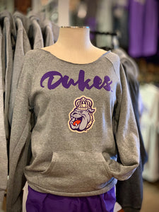 JMU Women's Scoop neck