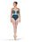 Sea Color-Block Leotard
