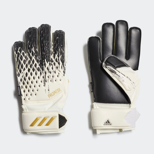 Adidas Predator 20 Match Fingersave Goalie Gloves-Junior - DiscoSports