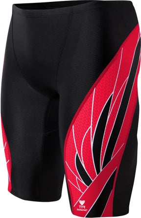 TYR Phoenix Splice Male Jammer in Black/Red