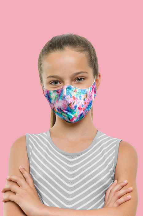 Bloch B-Safe Children's Lanyard Face Mask (Tie Dye)
