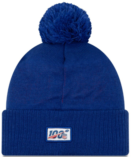 New York Giants On Field Sideline Beanies