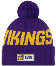 Load image into Gallery viewer, Minnesota Vikings NFL Sideline Beanie