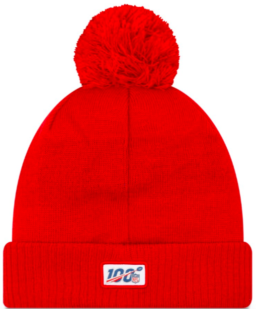 New England Patriots On Field Sideline Beanie