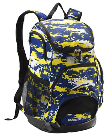 Printed Teamster Backpack (35L) (Camo/Blue)