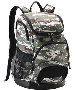 Printed Teamster Backpack (35L) (Camo/Brown/Beige)