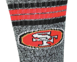San Francisco 49ers Crew Socks