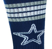 Load image into Gallery viewer, NFL Dallas Cowboys Crew Socks